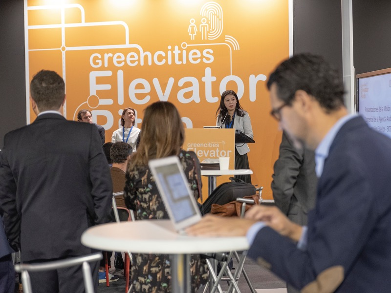 elevator pitch greencities